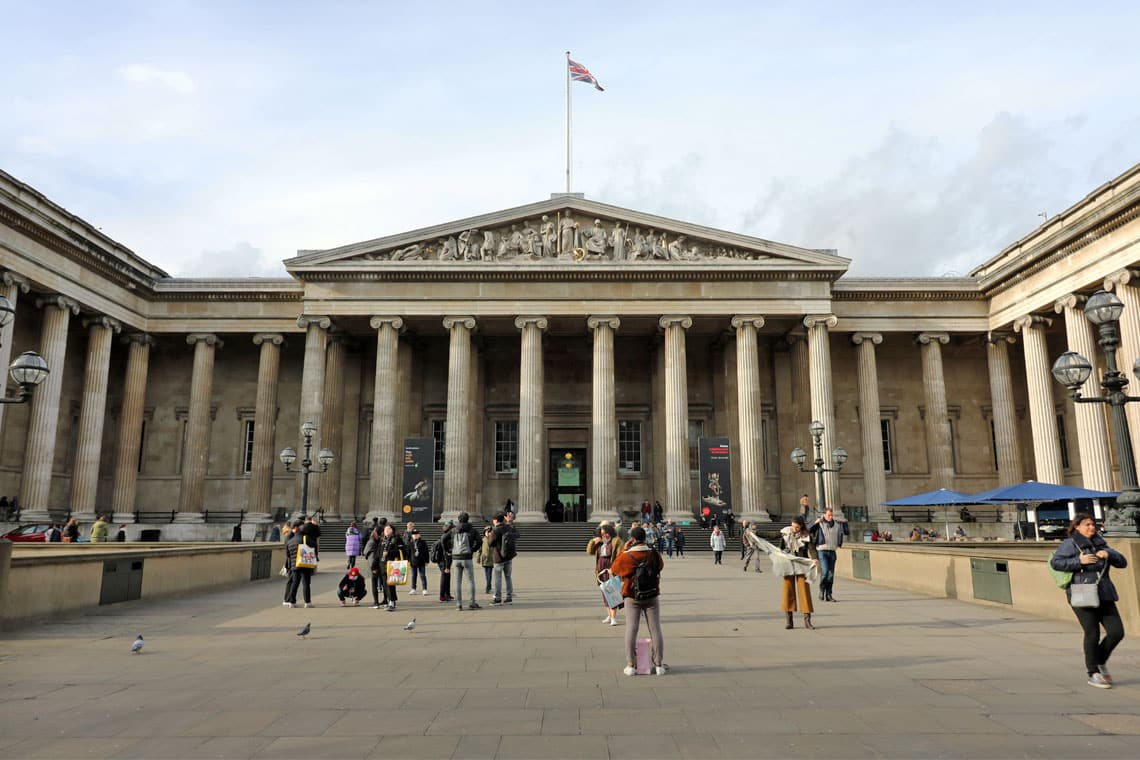 The British Museum, Bloomsbury, London Borough of Camden