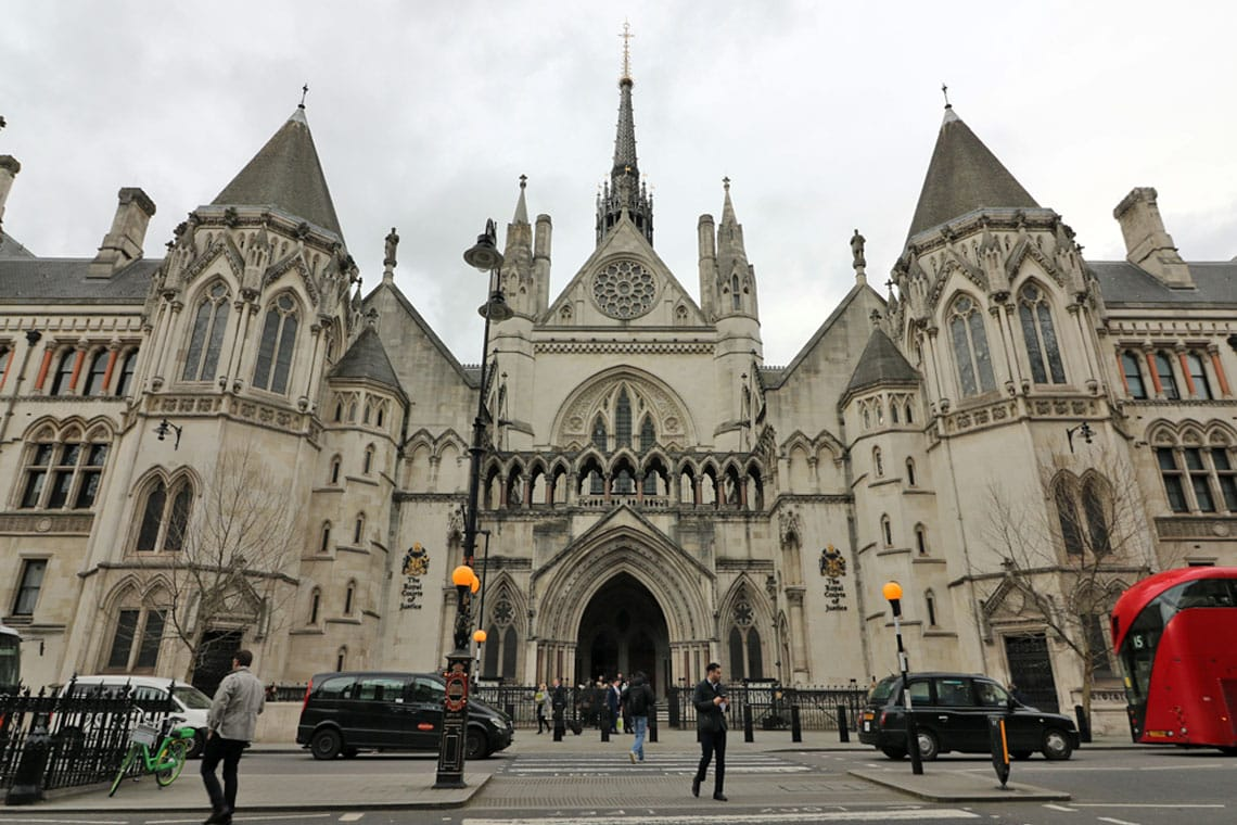 Royal Courts of Justice, Strand, City of Westminster