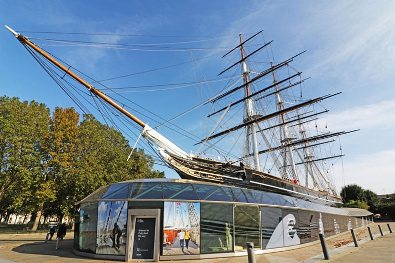 Cutty Sark, Royal Borough of Greenwich