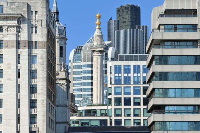 The Monument to the Great Fire of London, City of London