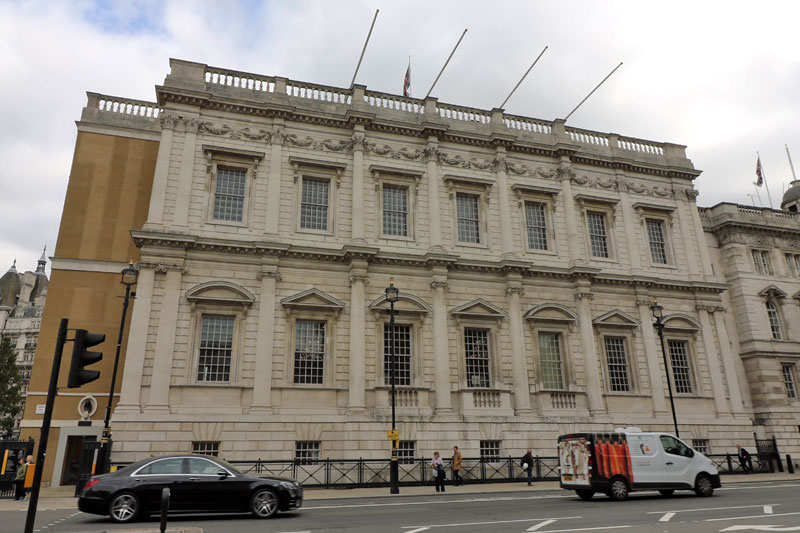 The Banqueting House, Whitehall, City of Westminster