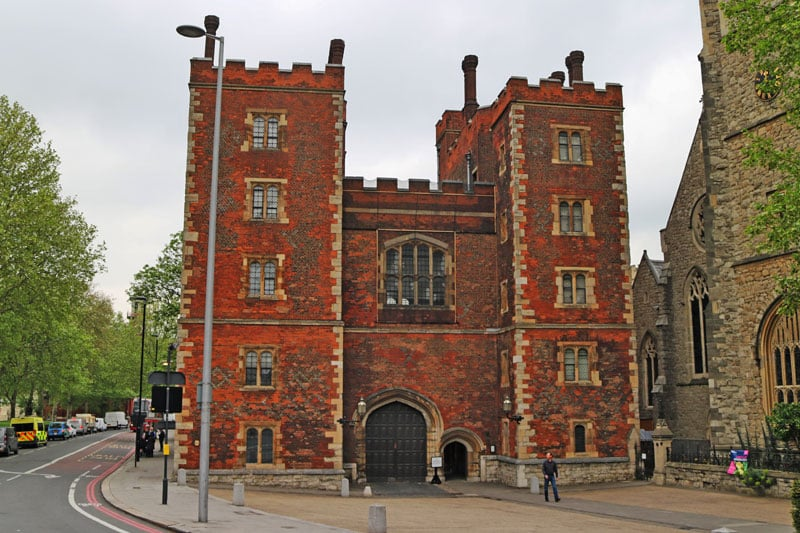 The Morton Tower, Lambeth Palace, London Borough of Lambeth