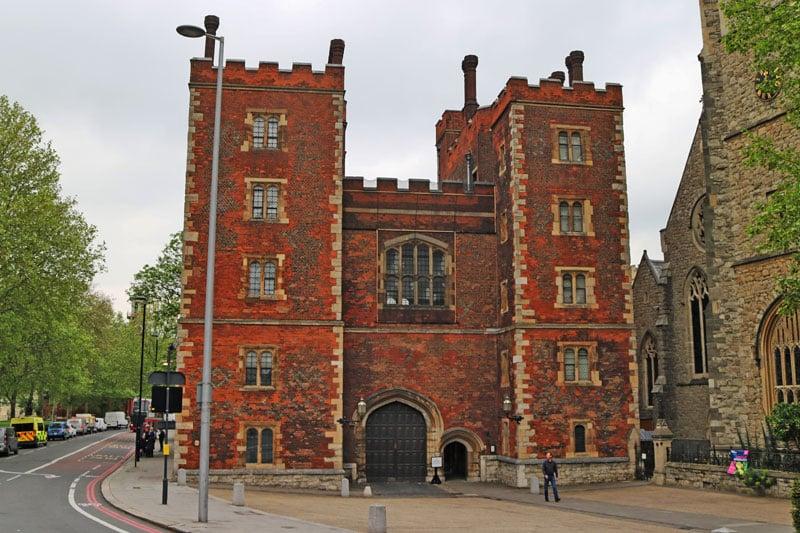 The Morton Tower, Lambeth Palace, London Borough of Lambeth