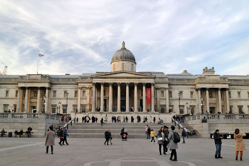 The National Gallery, Trafalgar Square, City of Westminster
