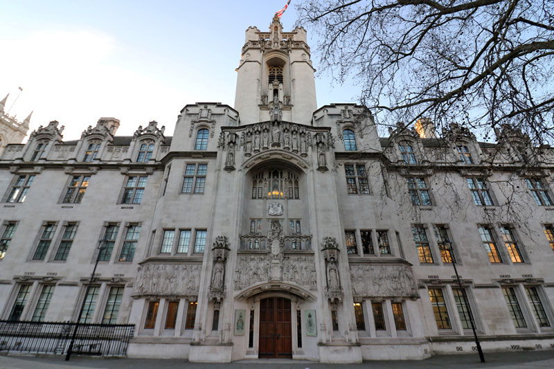 The Supreme Court, Middlesex Guildhall, Parliament Square