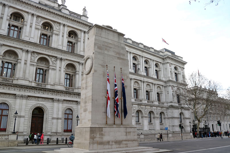 The Cenotaph, Whitehall, City of Westminster