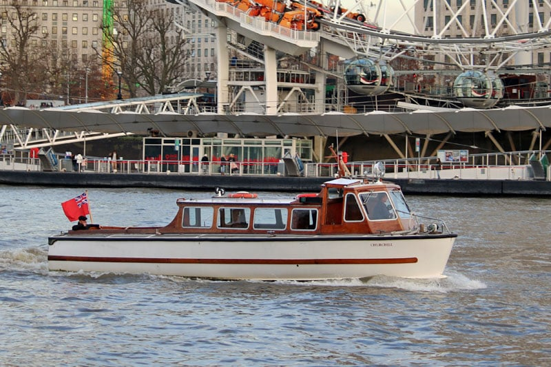 New Year's Eve Private Charters, M.V Churchill