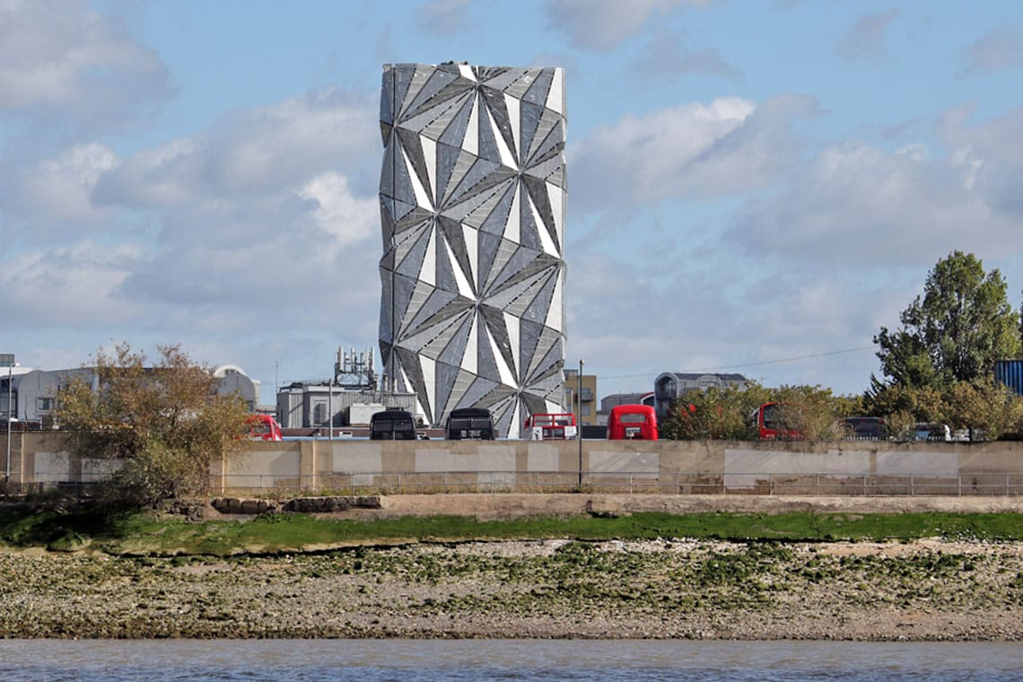 Optic Cloak by Conrad Shawcross, Royal Borough of Greenwich