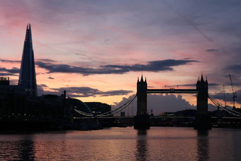 The Shard & Tower Bridge, London