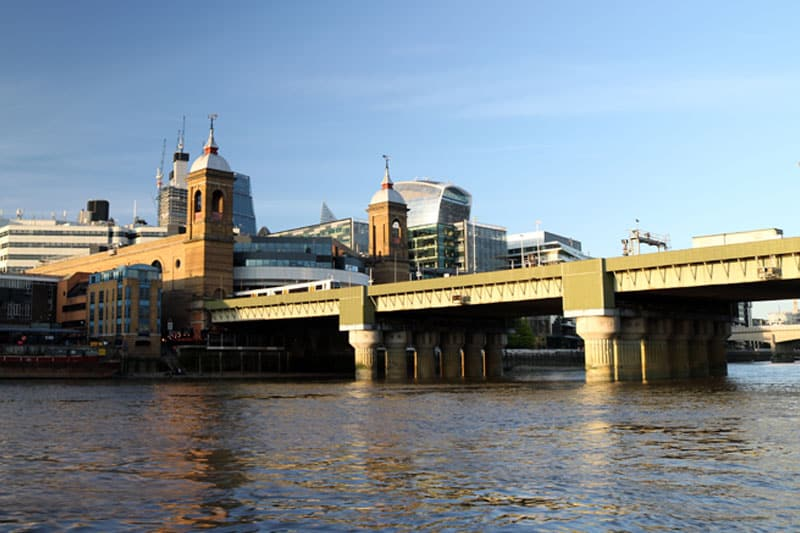 Cannon Street Station & Cannon Street Railway Bridge, City of London