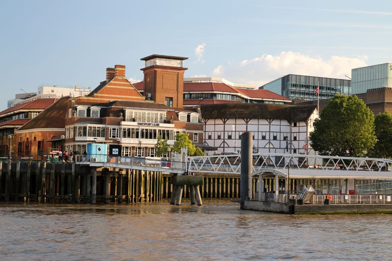Shakespeare's Globe, Bankside, London Borough of Southwark