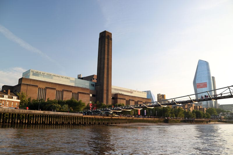 The Tate Modern & Millennium Bridge
