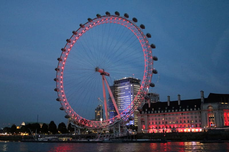 London Eye, Waterloo, London Borough of Lambeth