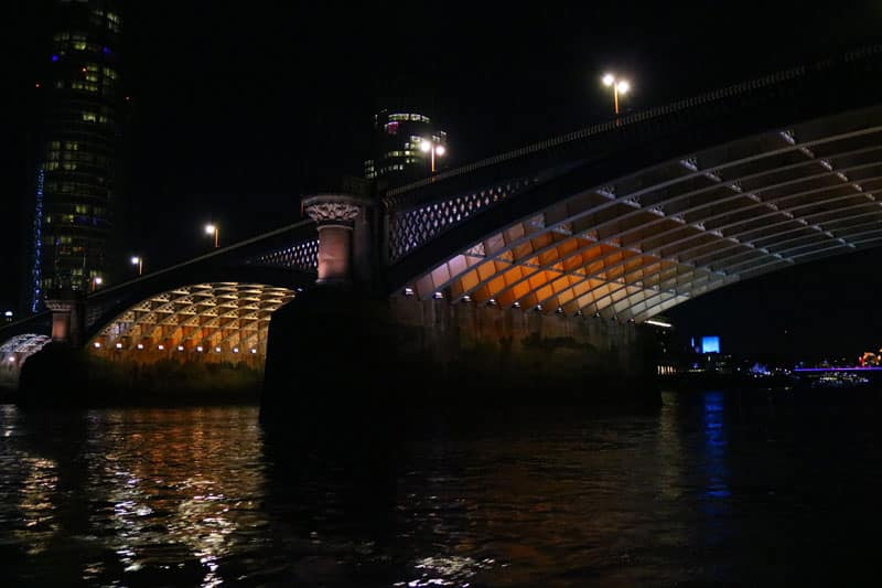 Blackfriars Road Bridge & the Illuminated River Project