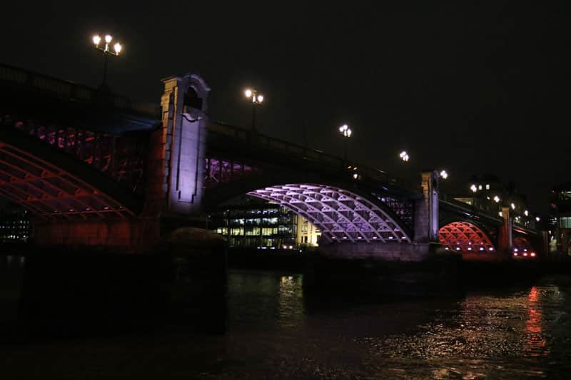 Southwark Bridge & the Illuminated River Project