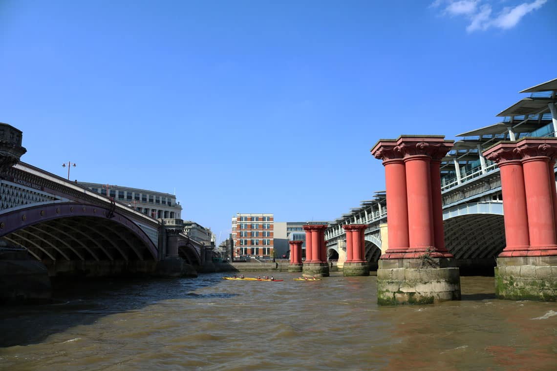 Blackfriars Railway Bridges, Upper Pool