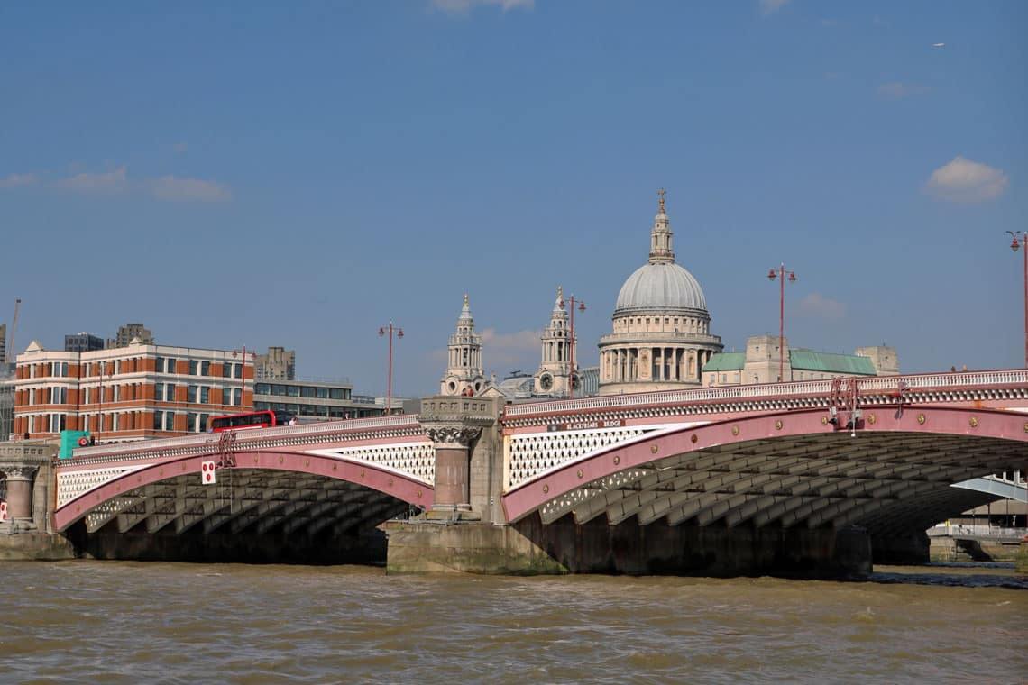 Blackfriars Road Bridge, Upper Pool