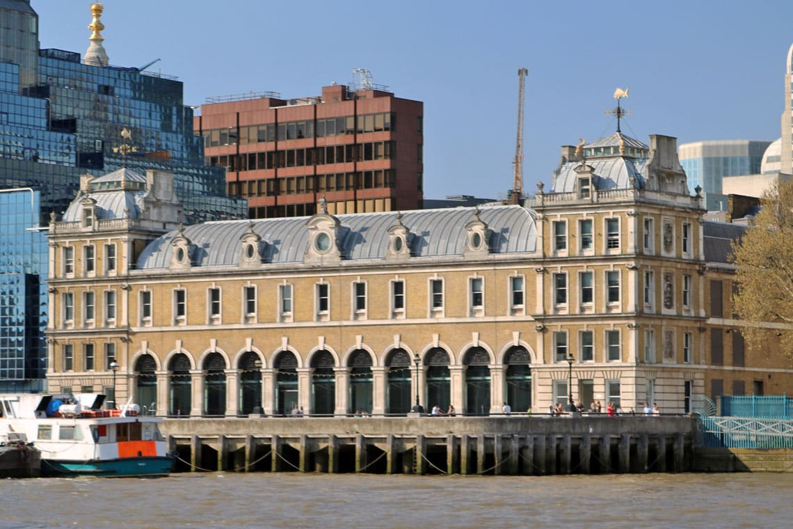 Former Billingsgate Fish Market, City of London