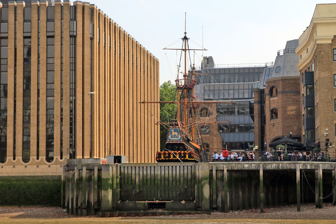 Golden Hine II, St. Mary Overie Dock, Bankside, South Bank, London Borough of Southwark