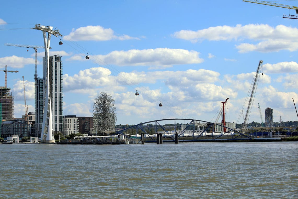 North Greenwich Cable Car, Royal Borough of Greenwich