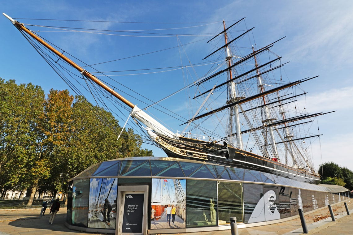 Tea Clipper Cutty Sark, Royal Borough of Greenwich
