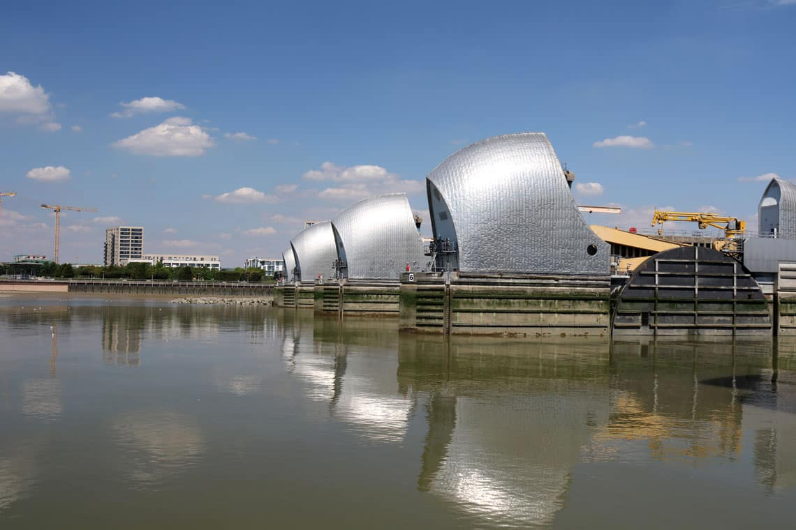 Thames Barrier, Woolwich Reach