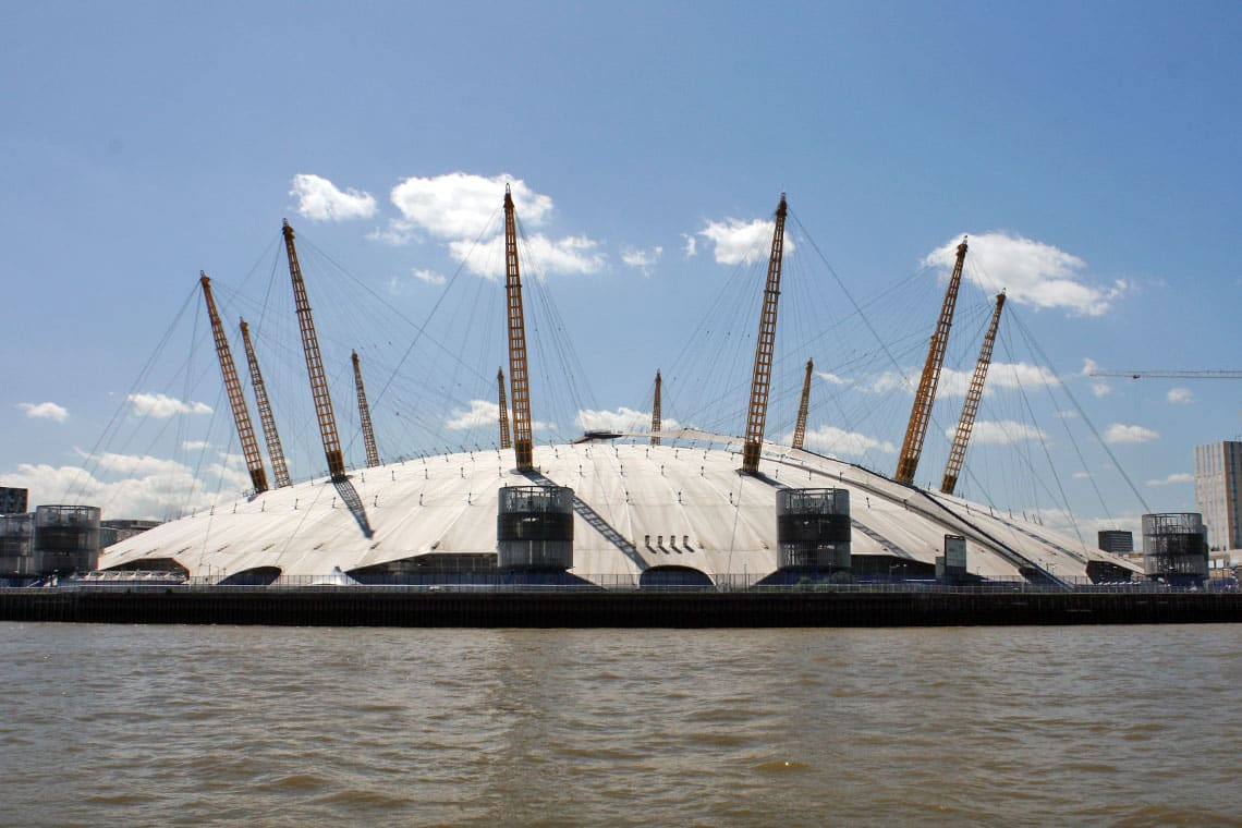 The O2, North Greenwich, Royal Borough of Greenwich