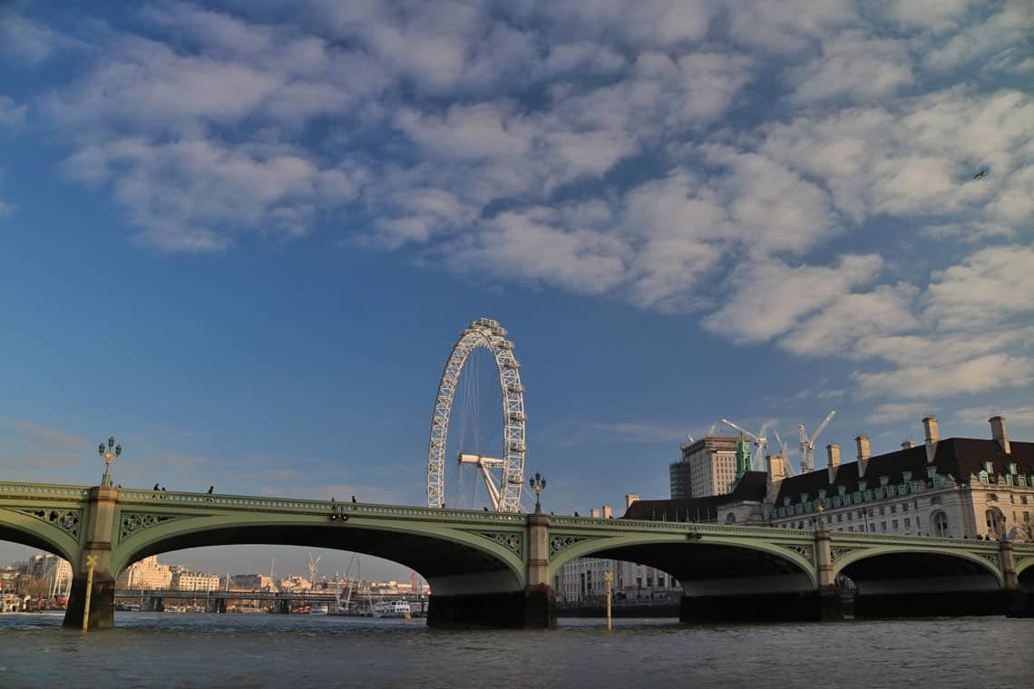 Westminster Bridge & the London Eye