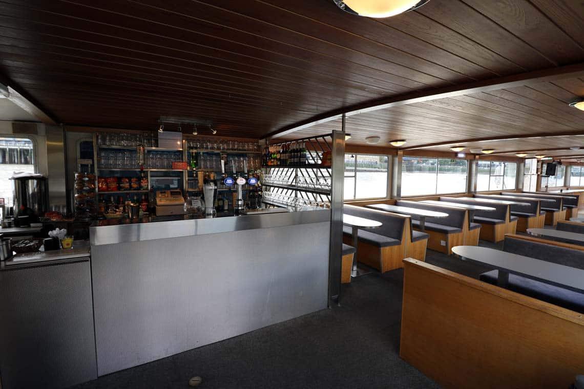 M.V London Rose, Lower Saloon & Fully Licensed Bar