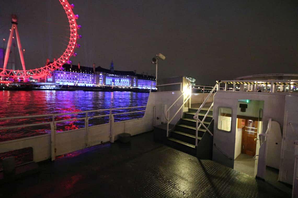 M.V London Rose, Aft Deck