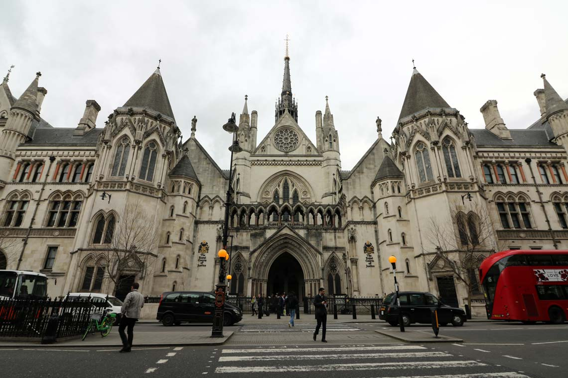 Royal Courts of Justice, Strand