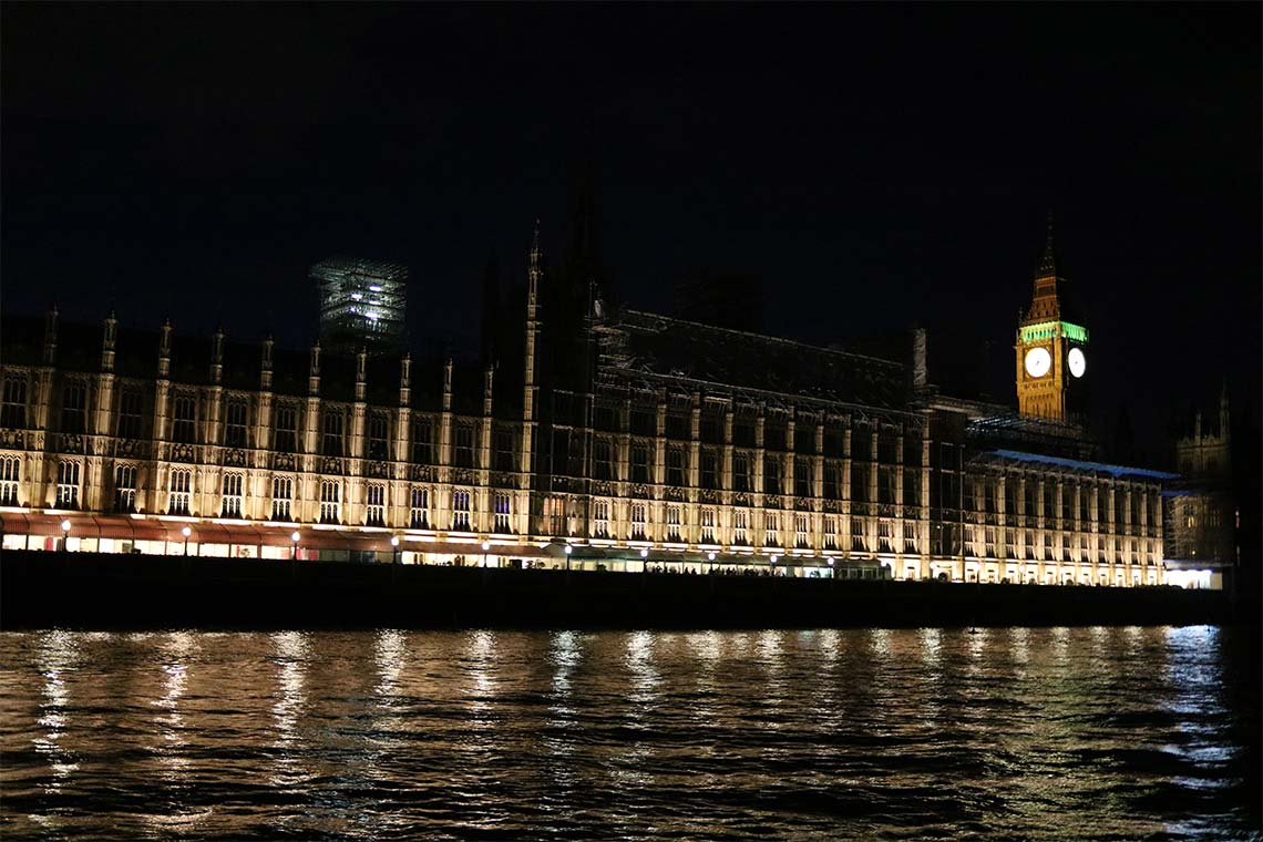 The New Palace of Westminster (Houses of Parliament), City of Westminster