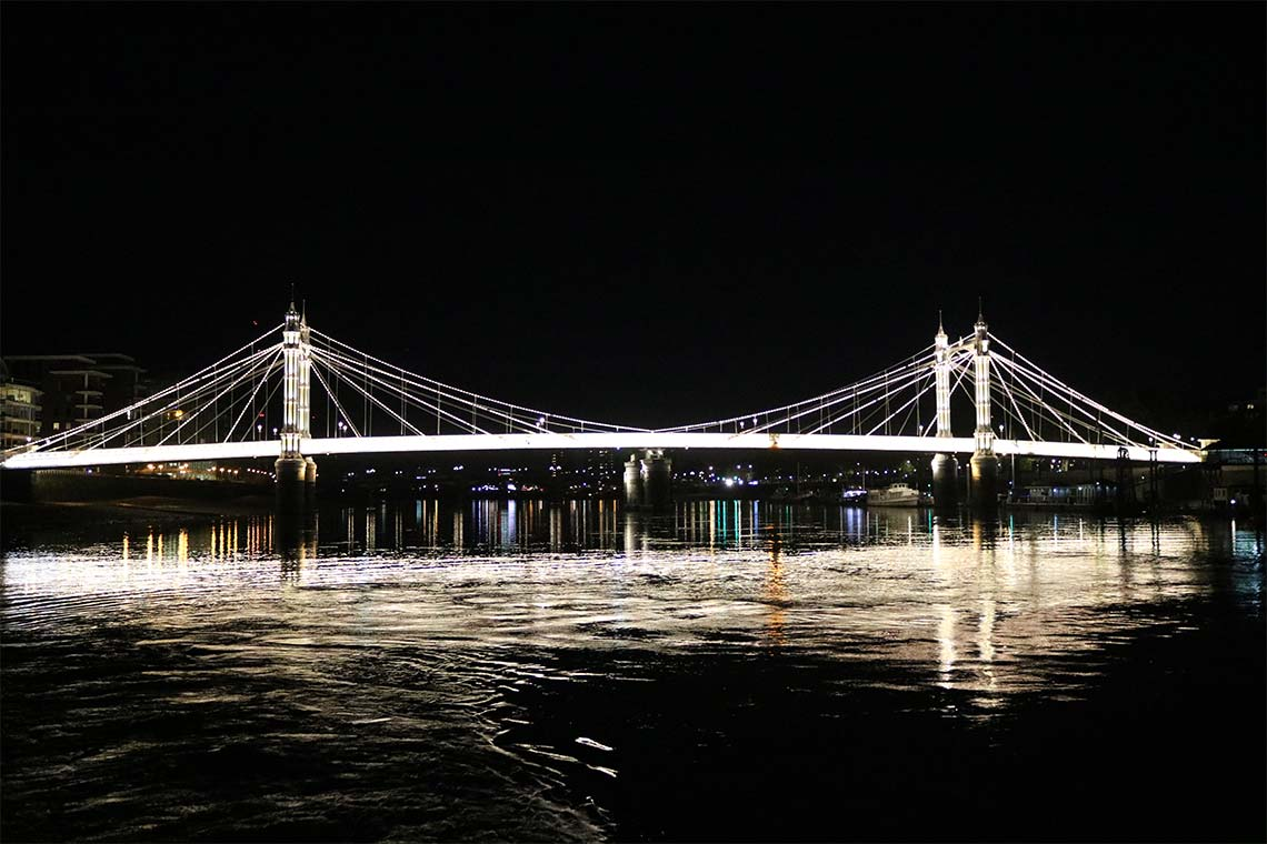 Albert Bridge, Chelsea