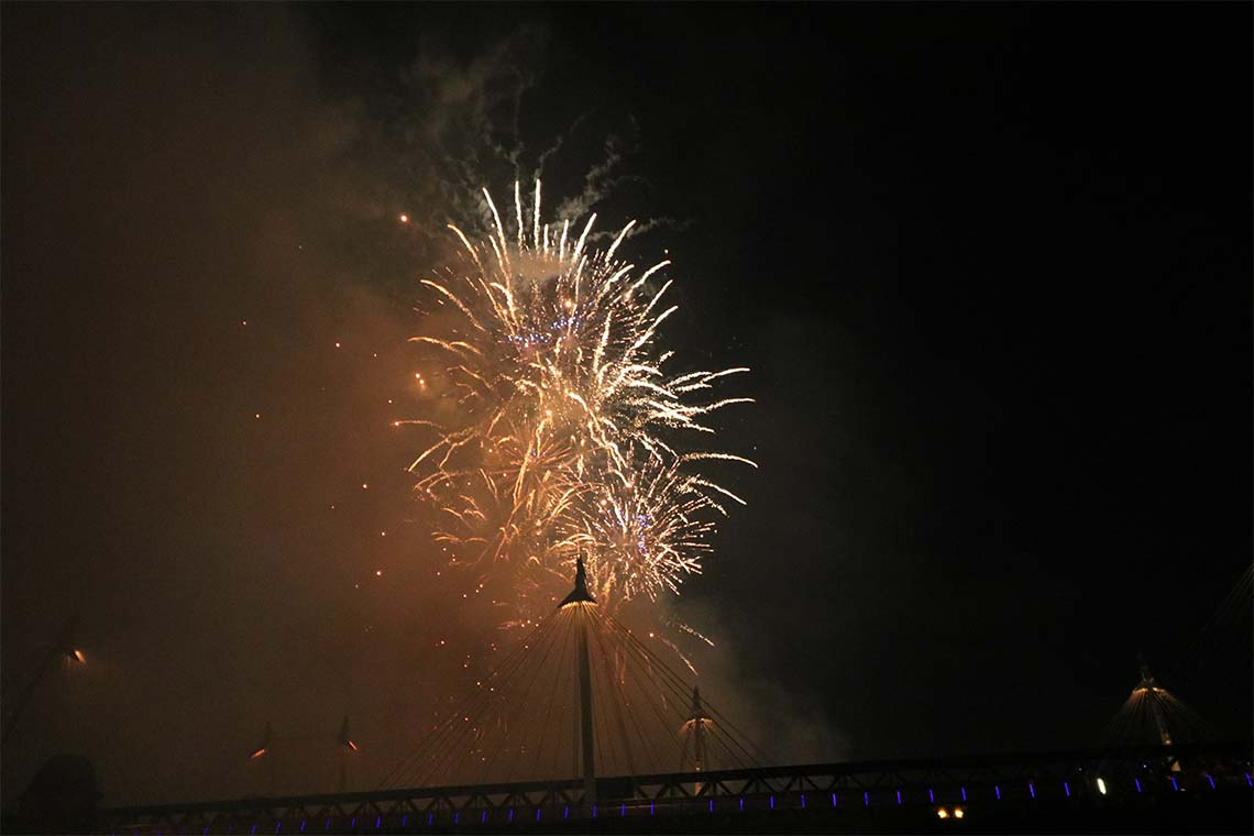 New Year's Eve Firework Display