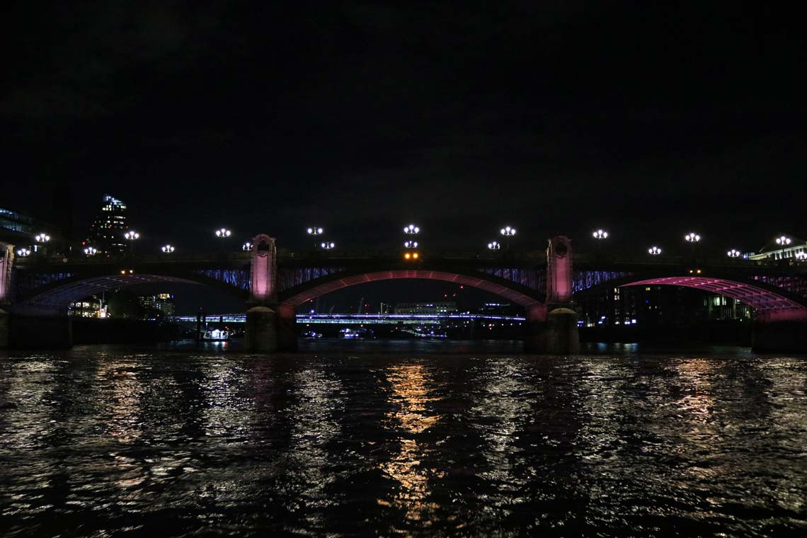 Southwark Road Bridge & the Illuminated River Project